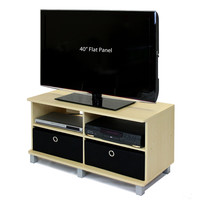 Steam Beech Entertainment Center - Holds Flat Screen TV's up to 42-inch