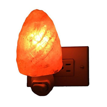 Himalayan crystal salt lamp table lamp bedroom adornment night light plug in Natural Himalayan Salt Air Ionizer Natural Lamp