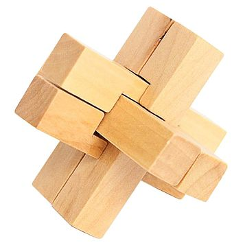 Wooden Puzzles Boy Toys Lock Kids Wooden Chinese Traditional Puzzle Child Brain Game Toys