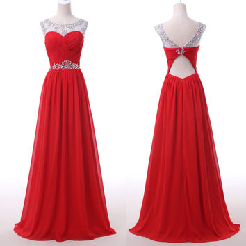 2015 SEXY Women Homecoming Bridesmaid Evening Long Prom Party Dress Wedding Gown