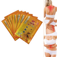 8pcs Chinese Medicines Bee Venom Balm Joint Pain Patch Neck Back Body Massage Relaxation Pain Killer Body Massager Relax
