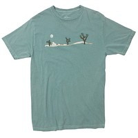 Joshua Tree Embroidered Mens Graphic Tee