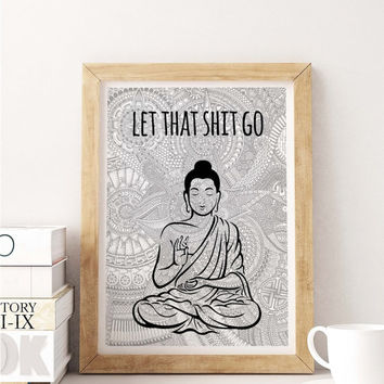 Relax Buddha Painting Poster Art Print Canvas Print Wall Decor Canvas Poster Print Digital Print Designer Art Painting Wall Art Home Gift