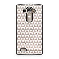 Wooden Triangle Geometric Pattern LG G4 case