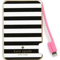 kate spade new york slim portable charger - Black