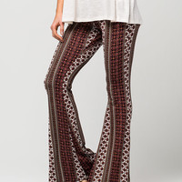 FULL TILT Mini Medallion Flared Pants | Pants & Joggers