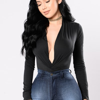 My Loving Needs A Home Bodysuit - Black
