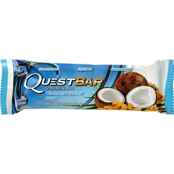 Quest Bar - Coconut Cashew - 2.12 Oz - Case Of 12
