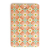 Heather Dutton Crazy Daisy Sorbet Cutting Board Rectangle