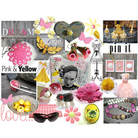 Dream Pink & Yellow