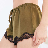 Out From Under Quincy Satin Short - Urban Outfitters