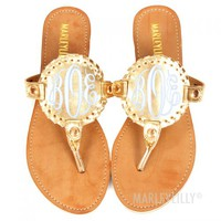 Monogrammed Shoes   Marleylilly