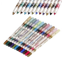 12 Colors M.n. Waterproof Glitter Eyeliner Eyeshadow Lip Pencil Pen Cosmetic Makeup 10006435