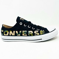 Converse Chuck Taylor All Star Ox Camo Black Logo 166234F Womens Shoes