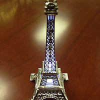 """12"""" (30cm) Metal Eiffel Tower For Centerpieces Wedding Decoration Home  Pk of 10"""