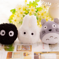 "3Piece/Lot 4"" Totoro Plush Stuffed Animals"