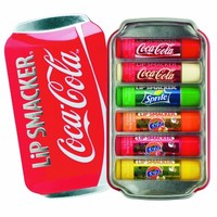 Lip Smacker Coca Cola Lip Collection 6 Lip Balms Tin