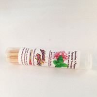 Spearmint Peppermint Toothpicks In Pop Top Tube 36 qty