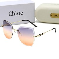 Chloe Women Men Summer Multicolor Sun Shades Eyeglasses Glasses Sunglasses