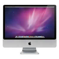 """Apple iMac 20"""" Core 2 Duo P7550 2.26GHz All-in-One Computer - 2GB 160GB DVD±RW/GeForce 9400M/Cam/OSX (Mid 2009) - B"""