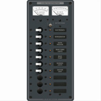 Blue Sea 8082 Marine Circuit Breaker Panel DC 10 Position Toggle Branch