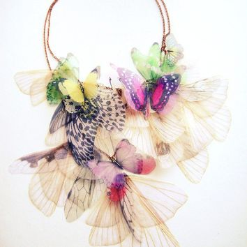 Fluttery Breath of Life Necklace 2  Transfer on by jewelera