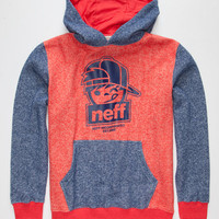 Neff Meld Boys Hoodie Red  In Sizes