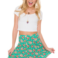 Alyssa Floral Skirt