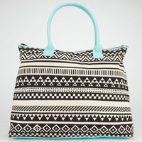 Ethnic Print Tote Bag Black Combo One Size For Women 23097914901