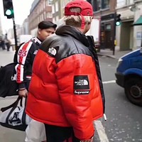 Thenorthface X Supreme Fashion Edgy Cardigan Jacket Coat Windbreaker