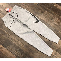Nike Hybrid Swoosh Joggers Woman Men Fashion Pants Trousers Sweatpants