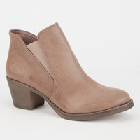 O'neill Sheila Womens Booties Taupe  In Sizes