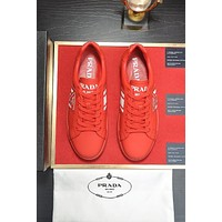 prada men fashion boots fashionable casual leather breathable sneakers running shoes 1