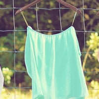 Happily Ever After Top: Mint | Hope's