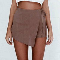 Women High Waist Short Pants Sexy Shorts Summer Casual Shorts Beach Fashion Shorts Women Clothes 2017 New