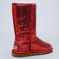 UGG Sheepskin Light Medium Sequins Snow Boots Shoes