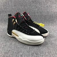Air Jordan 12 Retro AJ12 CNY Sport Shoes
