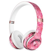 Pink Watercolor Quatrefoil Full-Body Skin Kit for the Beats by Dre Solo 3 Wireless Headphones