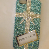 CUSTOM bling rhinestone cell phone cover case iphone