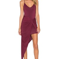 krisa Knotted Cami Maxi Dress in Bloom