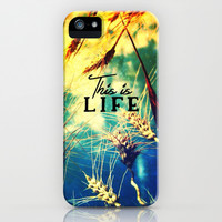This is life - for iphone iPhone & iPod Case by Simone Morana Cyla