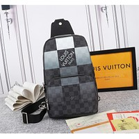 lv mens zipper shoulder bag crossbody bag handbag mens business bag classic clutch bag