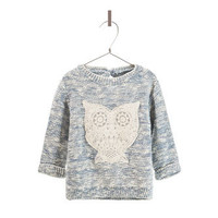 COMBINATION SWEATER WITH OWL DESIGN - Baby girl - New this week - ZARA United States