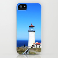 Lighthouse at Olympic National Park seaside, Seattle.  iPhone & iPod Case by NatureMatters
