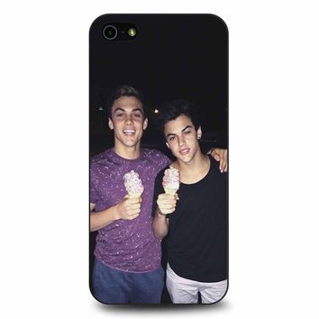 Dolan Twins Ethan Grayson Ice Cream iPhone 5/5s/SE Case