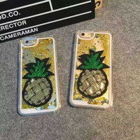 Pineapple Pattern Summer Fashion Style Lovely Women and Men Gift - Phone Case = 4697436036
