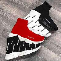 Balenciaga Sneakers Kint Socks Running Shoes Pure