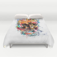 King Dusty Duvet Cover by HappyMelvin