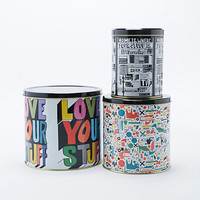 Rude Tin Set - Urban Outfitters