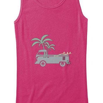 Friday Afternoon Women's Vintage Surf Bus Tank